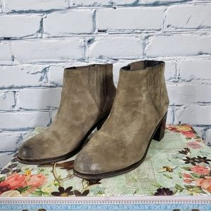 Wolverine by Samantha Pleet ARC Suede Ankle Boots